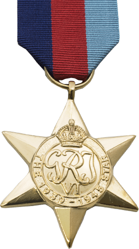 High quality official replica 1939-1945 Star for sale