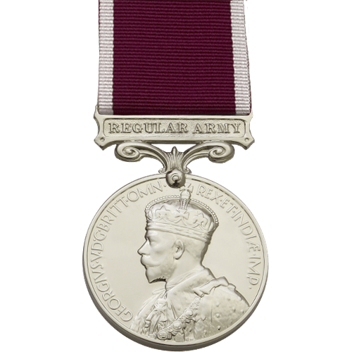 High quality official recplica Long Service and Good Conduct Medal (LSGC, Military) for sale