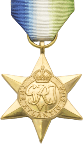 High quality official recplica Atlantic Star Medal for sale