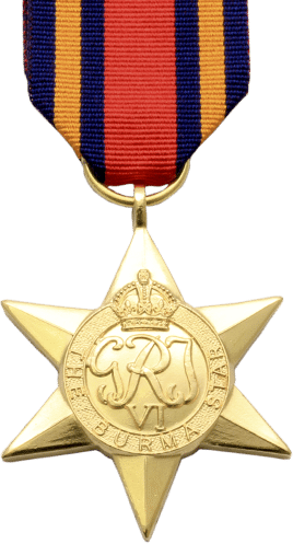 High quality official replica Burma Star for sale