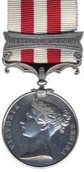 High quality official recplica Indian Mutiny Medal for sale