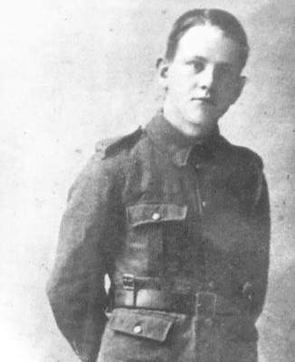 William  Henderson, Rifleman, 15th Battalion, Royal Irish Rifles