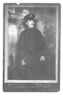 George  Weston, Gunner Kings Own Yorkshire Light Infantry