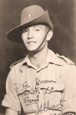 Albert Deleu, Royal welch fusiliers