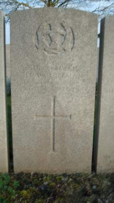 Horace Millman, Private 13 Middlesex Regiment