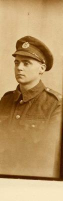 Harry Handley, Sapper, Royal Engineers 92nd Field Company