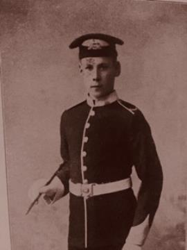 Ernest  Donkersloot, Lance Corporal in Lincolnshire Regiment