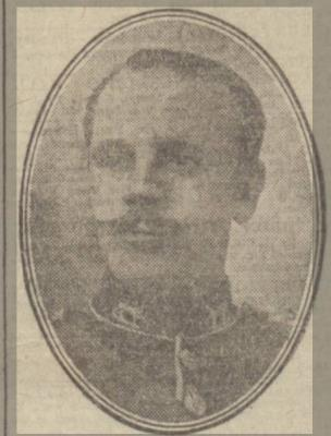 Robert Smith Gordon, Reg #177, Company Sergeant Major, 1/4 Gordon Highlanders, 51st Highland Division
