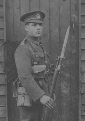 Ivor Morgan, Lance Corporal    33322  2nd Battalion South Wales Borderers