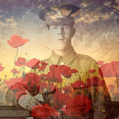 Alfred Patrick Fitzgerald, Pte 8128 4th Battalion North Staffordshire Regiment