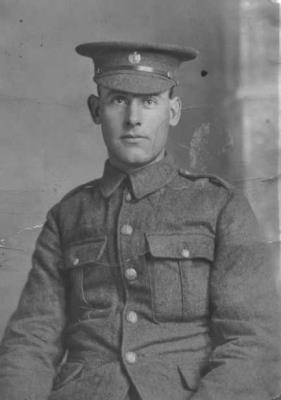 Frank Bradley, Lance Corporal, Military number 7346, Northamptonshire regiment 5th battalion