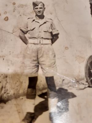 John brown  Roy, Private 2058918 6th battalion Gordon highlanders