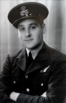 Brian Charles Henry King, Flying Officer in the Royal Air Force