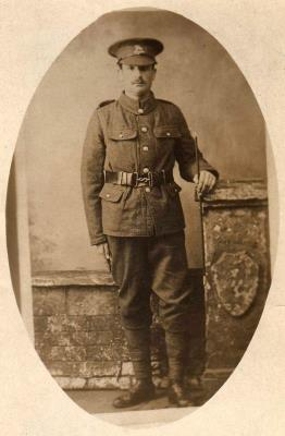 Thomas Robert King, C/10591, The Queen's Royal West Surrey Regiment, 7th Bat