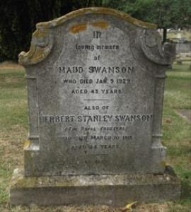 Herbert Swanson, Private, 24th Royal Fusiliers