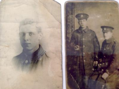 George William  Sainsbury , 3rd, 10th & 23rd London Regiment private 4057, 7580, 703622