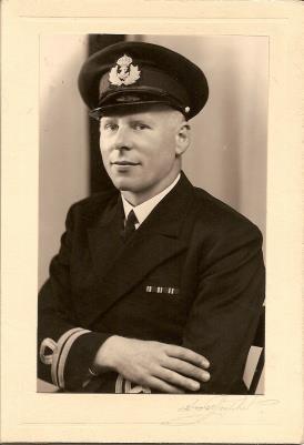 Einar Lauritsen, Lt. Commander. Royal Norwegian Navy