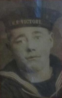 William Speller, served in WW1 on the Victory II as a Leading Stoker