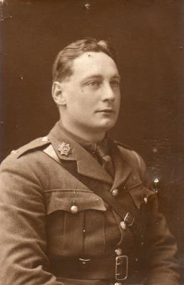 Charlie Yaxley, 2nd Lieutenant, 8th Devonshire Regiment