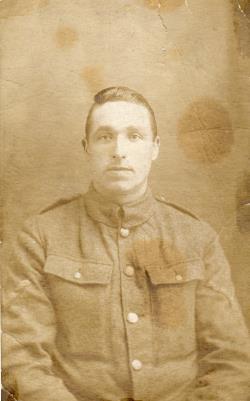 John Dewsbury (Duesbery), private 18260 2nd Battalion Notts & Derby