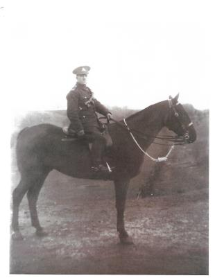 Thomas George freeman Barker, Driver RFA  72 Brigade C Battery 15 Division