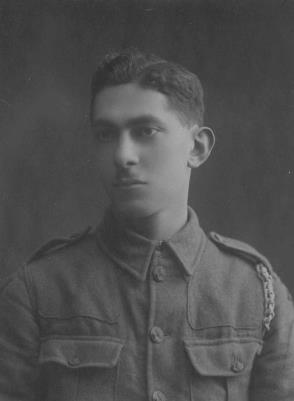 Barnett Barney Griew, 1/5 London Regiment