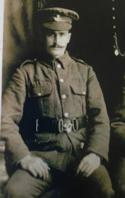 James Winter, Sarjent .Durham Light Infantry