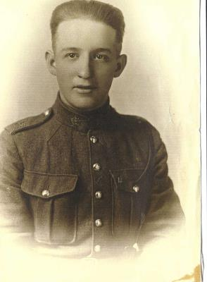 Walter Turner, Private 4th Bn Canadian Infantry