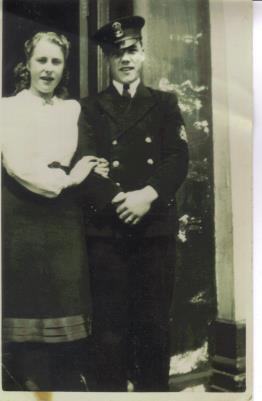 James Douglas Mayall, Sub Lieutnant, Royal Navy Patrol Service