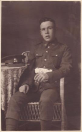 William George  Riglin, Private 26433 Middlesex Regiment