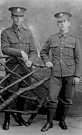 William Brackner, Sergent 13907 1st Bn.. Sherwood Foresters