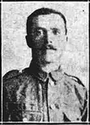 Samuel Wardman, 11th Battalion Sherwood Foresters (Notts and Derby Regiment), Private