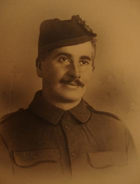 Robert Charles Edward Kerr, Private, Scottish Rifles (Cameronians)