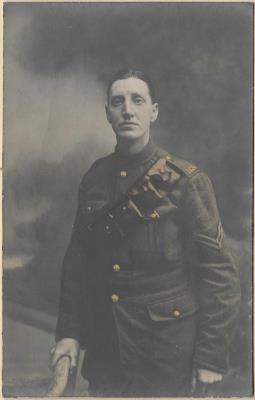 William Henry (Harry) Johnson, Gunner Royal Garrison Artillary
