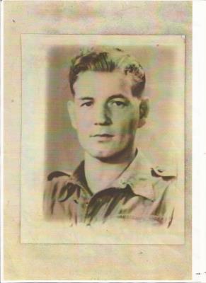 John Procter, SAC  2708 Field Squadron. Royal Airforce Regiment