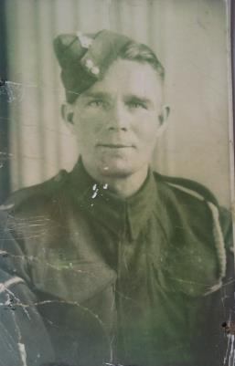 Daniel McCluskey, Fusilier, Royal Inniskilling Fusiliers, 1st Batallion