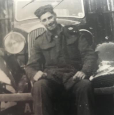 Cyril Cutting, 286 Park Unit ( 6th Para ) driver