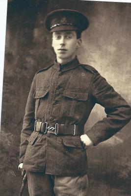 Edwin Alexander  Lowry, Private Queen Victoria Rifles (Londondon Regiment)