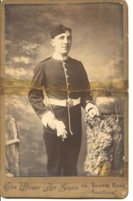 George Robert Head, Regimental Sajent Major