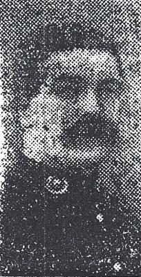 Ernest Francis James Orr, Private Royal Marines Light Infantry