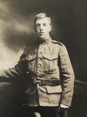 Frederick John Matthews, Private 412784 Canadian Infantry, Quebec Reg. 13th Battalion