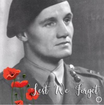 Richard Girdon Roberts, Commando. Welsh Fusiliers captain
