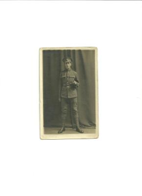 Reginald Thomas Ashby, Private No. 47056 Royal Inniskilling Fusiliers
