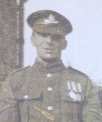 Aubrey Norman Rolfe, Corporal Oxon & Bucks L.I.