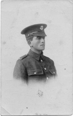 Ernest James (Jim) Hibbard, Dorset Regiment