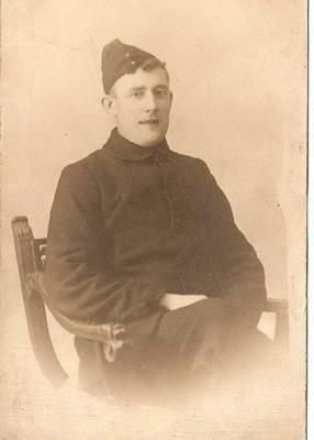 Thomas Hazlehurst, A private of the 11th battalion, Cheshire Regiment.