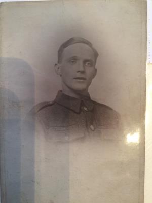 Robert Ashworth, Private 37639 East Lancashire Regiment