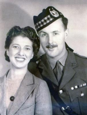 John Sinclair Shand, Lieutenant