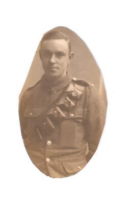 Percy John Talmage, Private 2nd/4th Battalion Oxford & Bucks Light Infantry