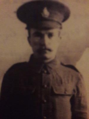 James Pattenden, Private G/4359 2nd Bn.,Royal Sussex Regiment